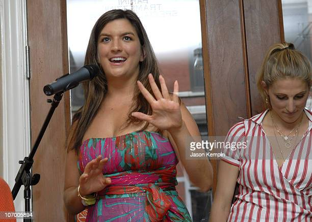 Cate Edwards and Vanessa Kerry during Women's Leadership Forum of The Democratic National Committee Meeting In New York City July 11 2006 at Art Et...