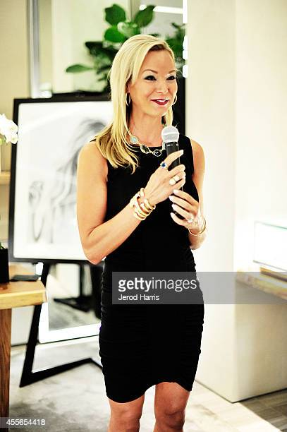 Cate Gunn attends David Yurman with RIVIERA host an instore event to celebrate the 'Enduring Style' fall campaign on September 17 2014 in Costa Mesa...