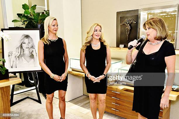 Cate Gunn Maria Schechter and Pamela Lowry attend David Yurman with RIVIERA host an instore event to celebrate the 'Enduring Style' fall campaign on...
