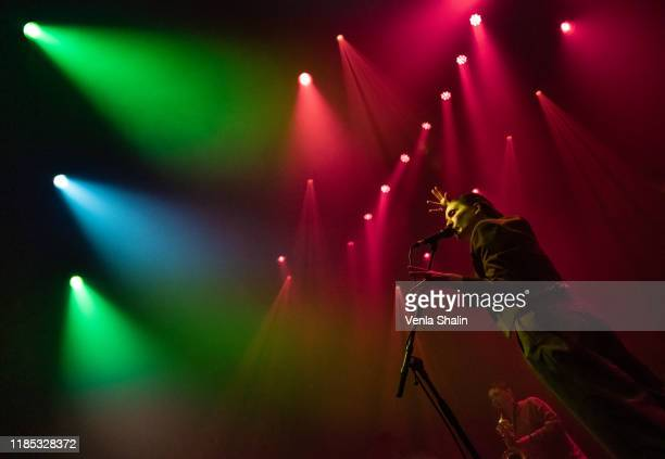 Cate Le Bon performs at the Roundhouse on November 3, 2019 in London, England.