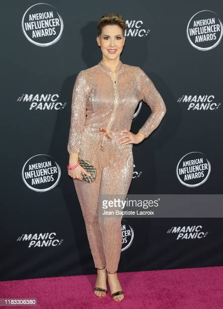 Cate Torrealba attends the 2nd Annual American Influencer Awards at Dolby Theatre on November 18 2019 in Hollywood California