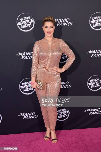 Cate Torrealba attends the 2nd Annual American Influencer Awards at Dolby Theatre on November 18, 2019 in Hollywood, California.