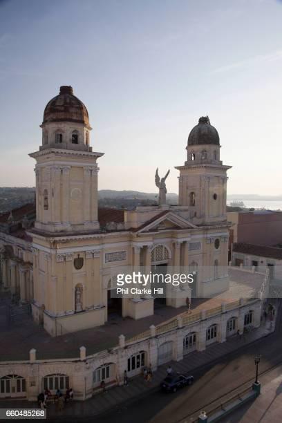 Catedral Basílica de Nuestra Señora de la Asunción / Cathedral Basilica of Our Lady of the Assumption also called Santiago de Cuba Cathedral exterior...