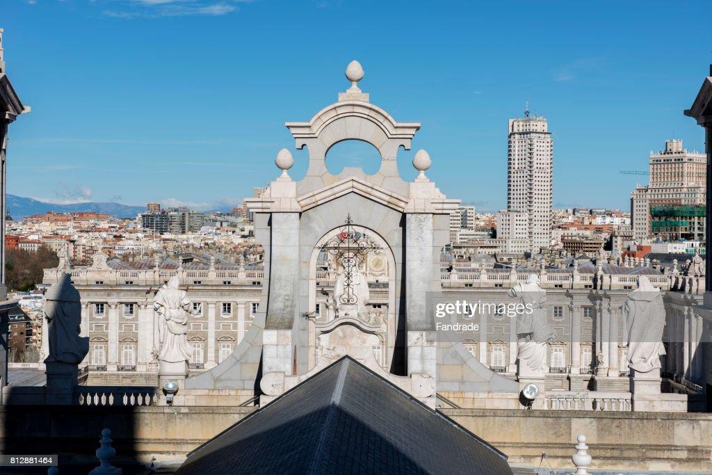 Catedral de Almudena, Madrid : ストックフォト
