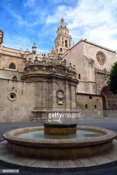 catedral de murcia - murcia - fotografias e filmes do acervo
