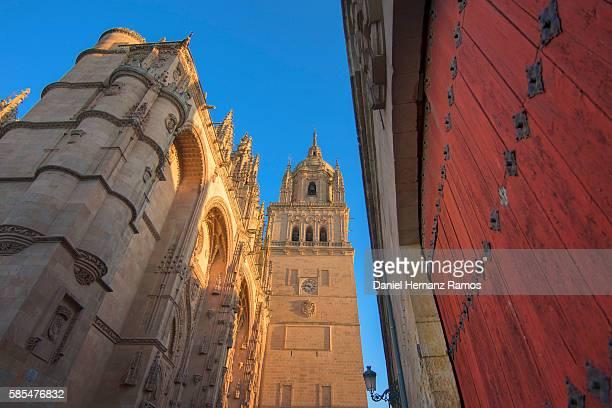 catedral de salamanca. salamanca, spain. - salamanca imagens e fotografias de stock