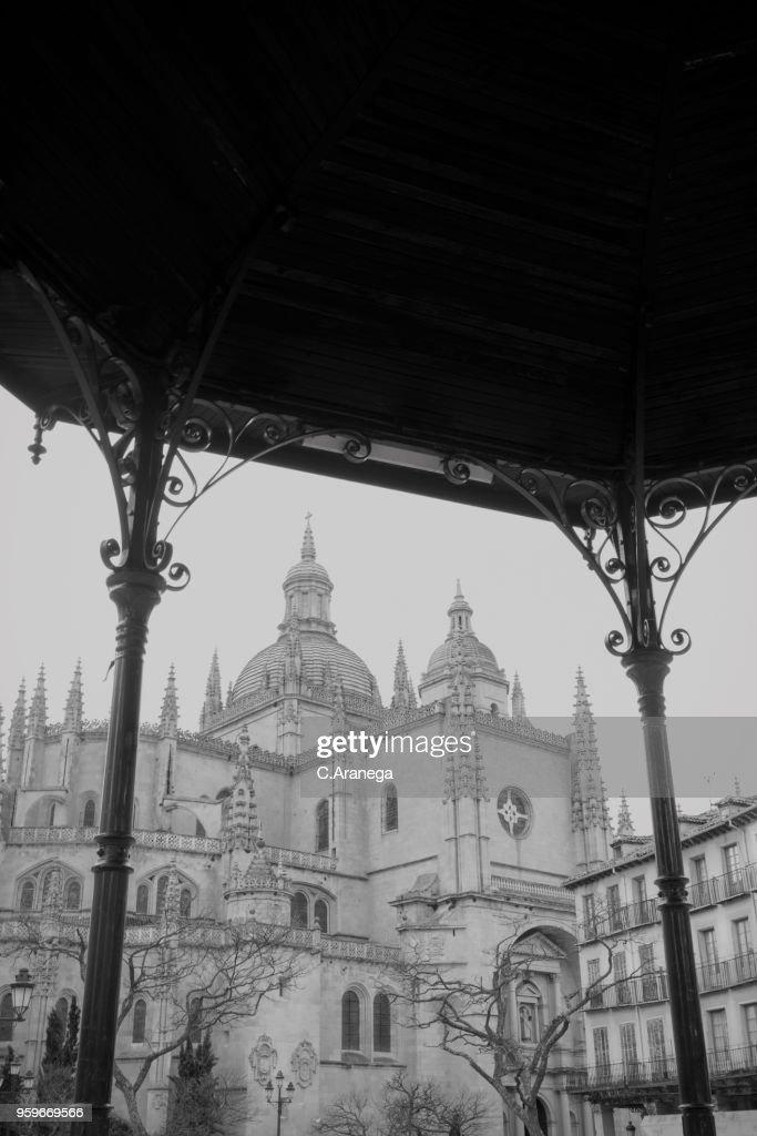 Catedral de Segovia : Stock-Foto