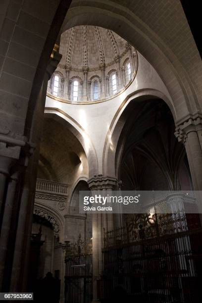 catedral del salvador, zamora - arte ストックフォトと画像