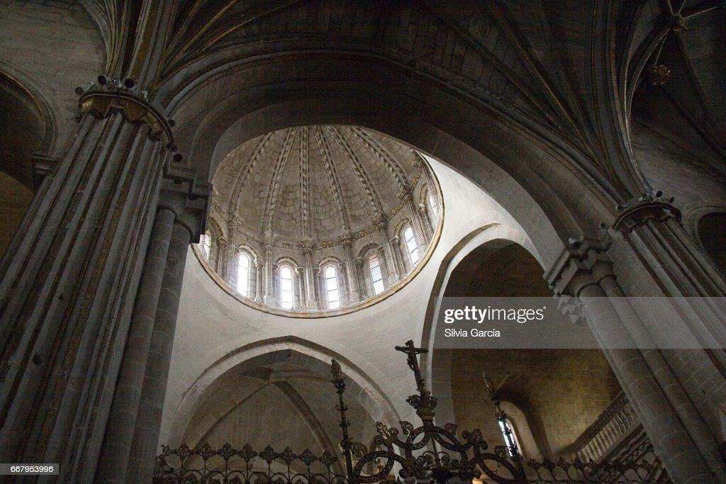 Catedral del Salvador, Zamora : ストックフォト