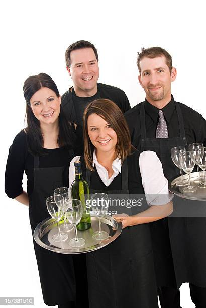 Caterers or Supermarket staff