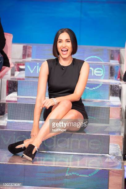 Caterina Balivo attend 'Vieni da Me' the TV show of Caterina Balivo that turns 40