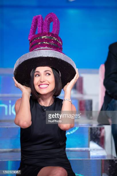 Caterina Balivo attend 'Vieni da Me' the TV show of Caterina Balivo that turns 40