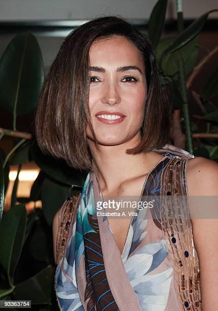 Caterina Balivo attends '2009 Margutta Awards' at Margutta RistoArte on November 24 2009 in Rome Italy