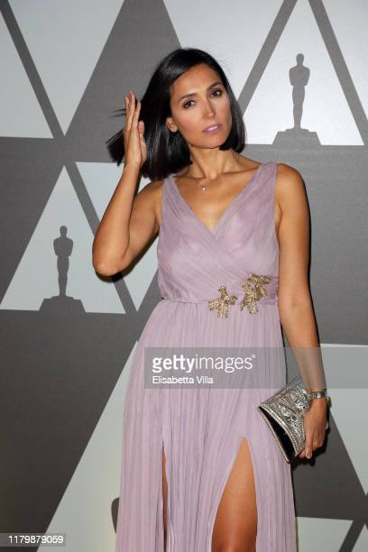 Caterina Balivo attends Academy of Motion Picture Arts and Sciences and Istituto Luce Cinecittà Event at Palazzo Barberini on October 08 2019 in Rome...