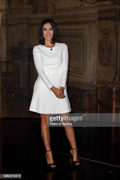 Caterina Balivo attends Che Tempo Che Fa tv show at Rai Milan Studios on November 11 2018 in Milan Italy