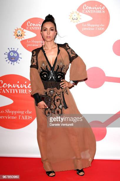 Caterina Balivo attends Convivio photocall on June 5 2018 in Milan Italy