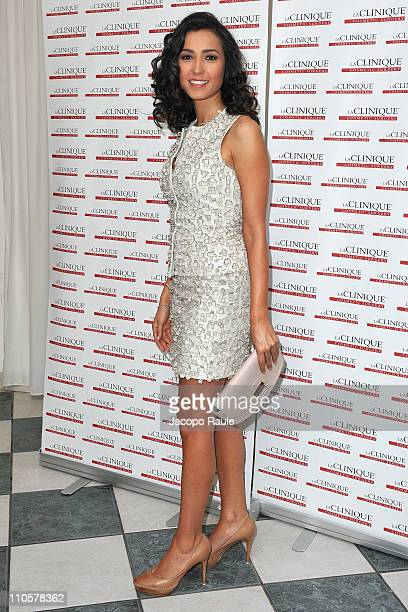 Caterina Balivo attends LaClinique Cosmetic Surgery Contest on March 22 2011 in Milan Italy