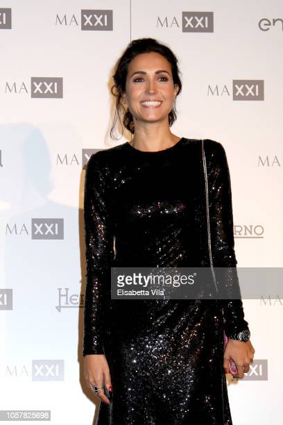 Caterina Balivo attends MAXXI Acquisition Gala Dinner at Maxxi Museum on November 5 2018 in Rome Italy