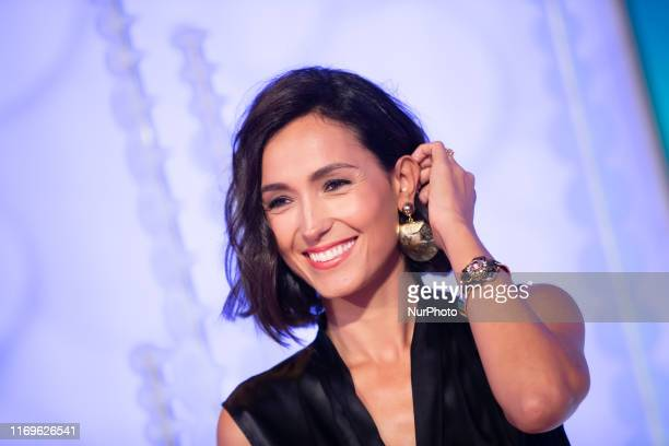 Caterina Balivo attends RAI 1 show 'Vieni con Me' on 19 September 2019 in Rome Italy