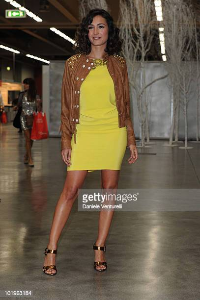 Caterina Balivo attends the 2010 Convivio held at Fiera Milano City on June 10 2010 in Milan Italy