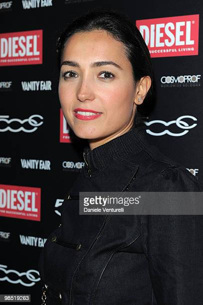 Caterina Balivo attends the Diesel Stupid Party At The Cosmoprof Worldwide on April 17 2010 in Bologna Italy