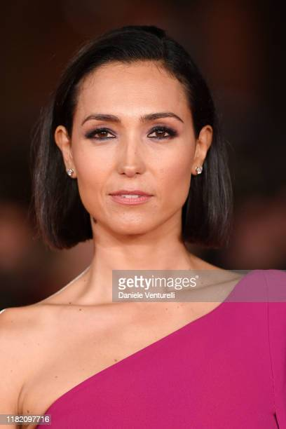 Caterina Balivo attends the Downton Abbey red carpet during the 14th Rome Film Festival on October 19 2019 in Rome Italy
