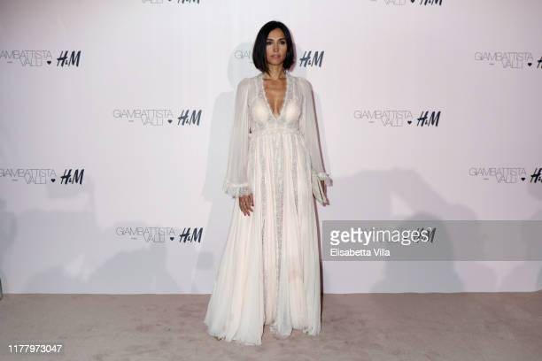 Caterina Balivo attends the 'Giambattista Valli Loves HM' Show on October 24 2019 in Rome Italy