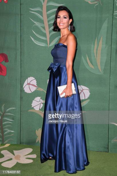 Caterina Balivo attends the Green Carpet Fashion Awards during the Milan Fashion Week Spring/Summer 2020 on September 22 2019 in Milan Italy