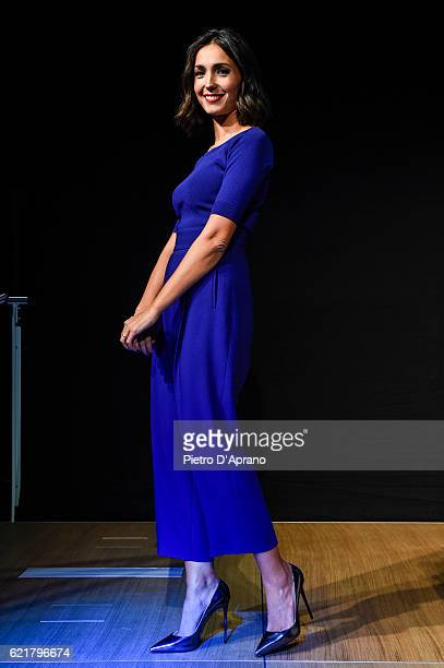 Caterina Balivo attends the 'Italia Digitale' Festival on November 8 2016 in Milan Italy