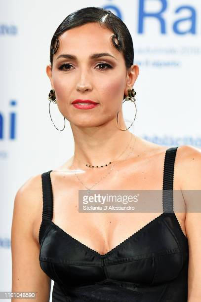 Caterina Balivo attends the Rai Show Schedule presentation on July 09, 2019 in Milan, Italy.