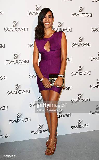 Caterina Balivo attends the Swarovski Fashionation at Palazzo Reale on June 7 2011 in Milan Italy