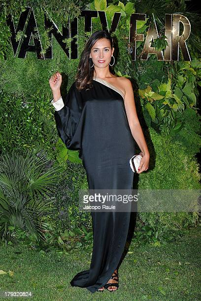 Caterina Balivo attends Vanity Fair Celebrate 10th Anniversary during the 70th Venice International Film Festival at Fondazione Giorgio Cini on...