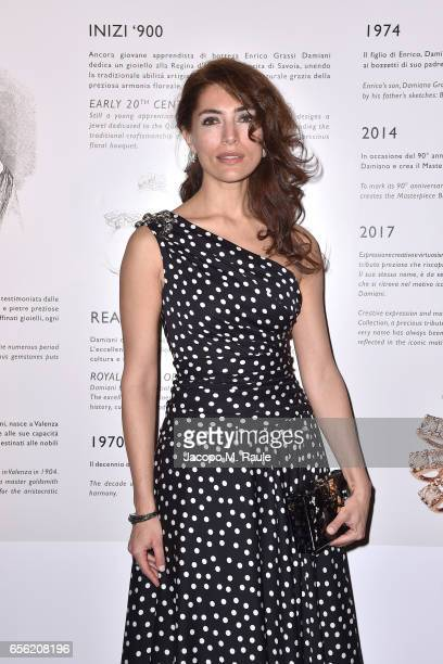 Caterina Murino attends a dinner for 'Damiani Un Secolo Di Eccellenza' at Palazzo Reale on March 21 2017 in Milan Italy