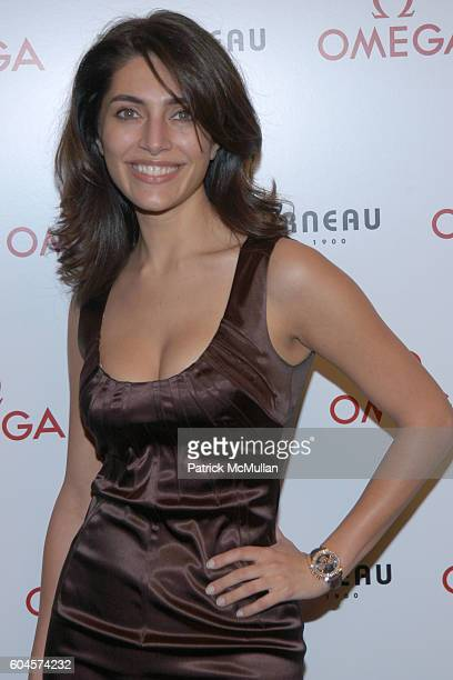 Caterina Murino attends Omega Hosts New York City Bonds with Bond Girl at Tourneau Time Machine on November 7 2006 in New York City