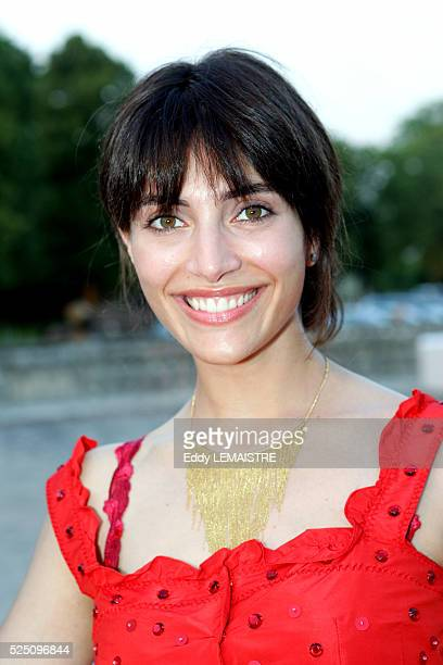 Caterina Murino attends the 21st Fete du Cinema at Versailles Palace