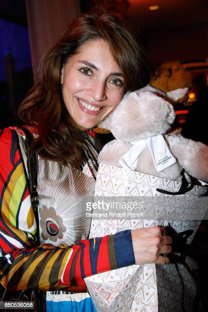 Caterina Murino attends the Inauguration of the Chalet Les Neiges 1850 on the terrace of the Hotel Barriere Le Fouquet's Paris on November 27 2017 in...