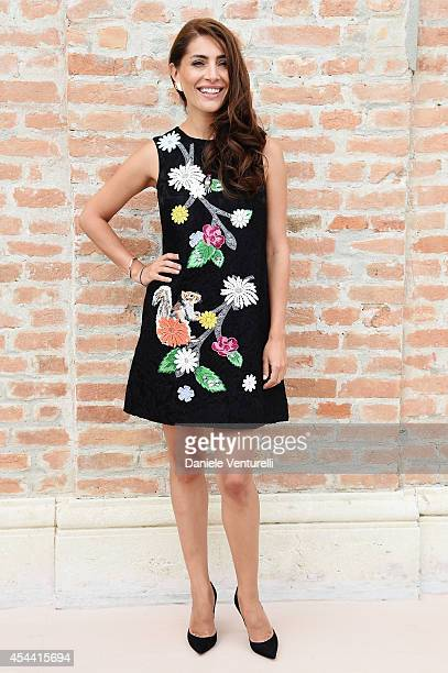 Caterina Murino attends the Kineo Award Photocall during the 71st Venice Film Festival at Hotel Excelsior on August 31 2014 in Venice Italy