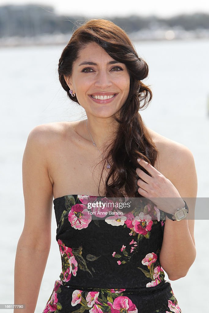 Caterina Murino attends 'The Odyssee' photocall on the Croisette on April 9, 2013 in Cannes, France.