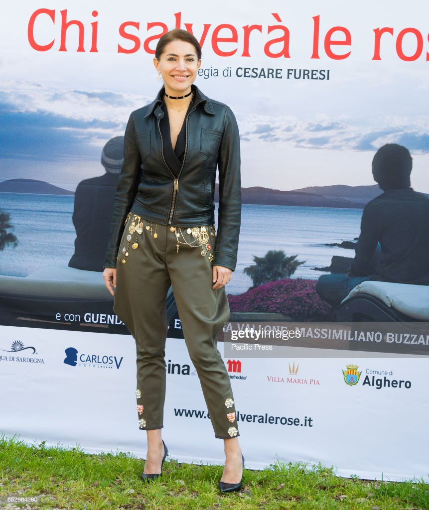 Caterina Murino attends the photocall of 'Chi Salverà le Rose ?'.