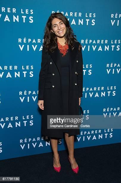 Caterina Murino attends the 'Reparer Les Vivants' Paris Premiere on October 24 2016 in Paris France