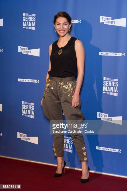 Caterina Murino attends the 'Series Mania Festival' opening night at Le Grand Rex on April 13, 2017 in Paris, France.