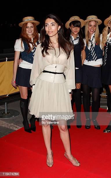 Caterina Murino during 2007 Cannes Film Festival 'St Trinian's' Party at Long Beach in Cannes France