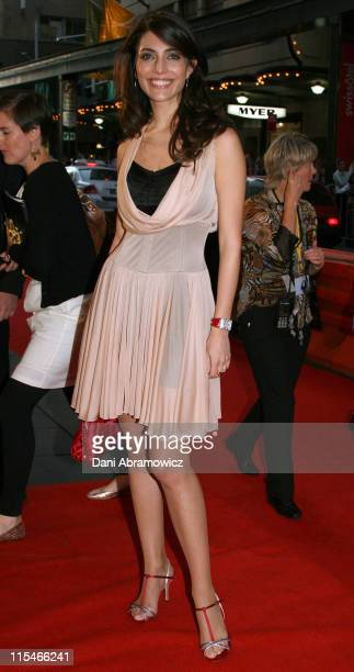 Caterina Murino during Casino Royale Australian Premiere Red Carpet at State Theatre in Sydney NSW Australia