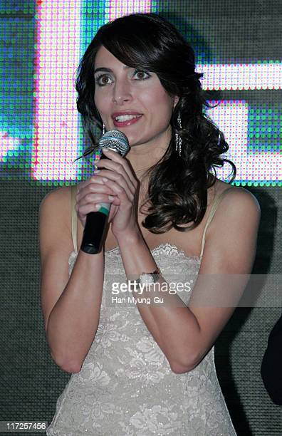 Caterina Murino during Casino Royale Seoul Premiere at Samsungdong MEGA Box In Seoul in Seoul, South Korea.