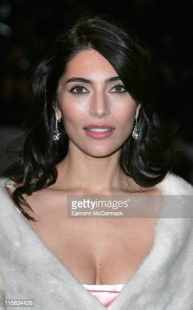Caterina Murino during Casino Royale World Premiere Outside Arrivals at Odeon Leicester Square in London Great Britain