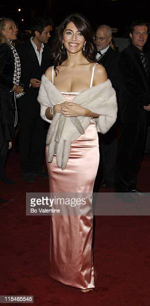 Caterina Murino during ''Casino Royale'' World Premiere Red Carpet at Odeon Leicester Square in London Great Britain