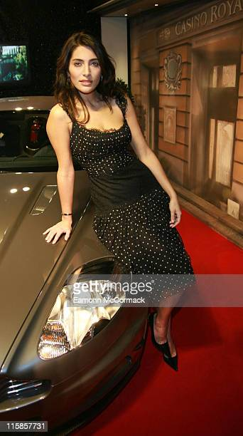 Caterina Murino during Harrods 2006 Christmas Window Launch with Caterina Murino in London United Kingdom