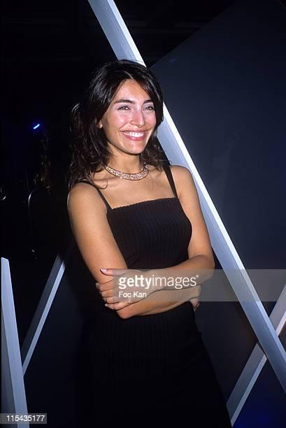 Caterina Murino during Les Diams du Coeur Auction Exhibition Cocktail at Tour Eiffel in Paris France