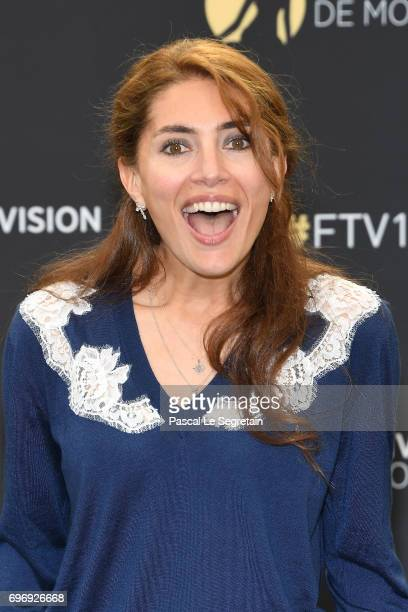 Caterina Murino from Deep Mare Nostrum TV Show poses for a Photocall during the 57th Monte Carlo TV Festival Day Two on June 17 2017 in MonteCarlo...
