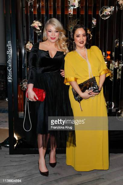 Caterina Pogorzelski and Miyabi Kawai during the Ritz Carlton Berlin ReOpening Party at Ritz Carlton on March 5 2019 in Berlin Germany